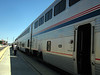 My trains stops for an hour in Albuquerque