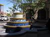 Albuquerque, fountain next to Amtrak Station