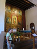 Inside the Guadalupe church
