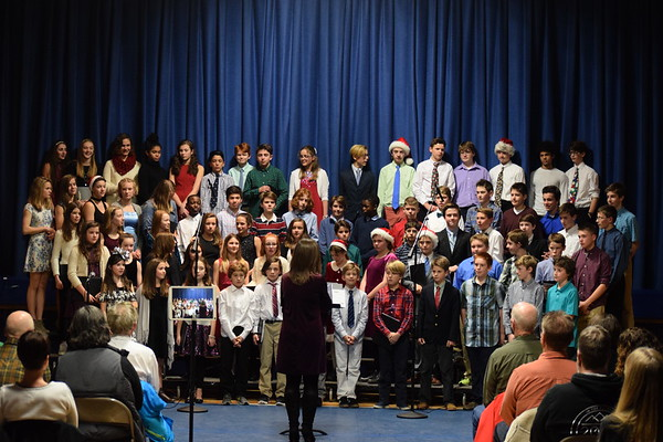 2017 Christmas Concert - Middle School