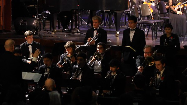 Campo Big Band performing Send in the Clowns
