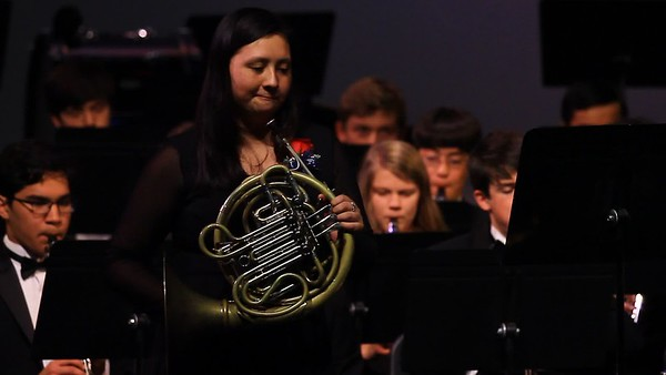 Symphonic Band Horn Concerto No.3 with Erica Wilson