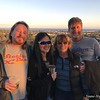 2018-03-25  Met Christine and Mike at the top of Santa Barbara Bowl before the Avett Brothers concert