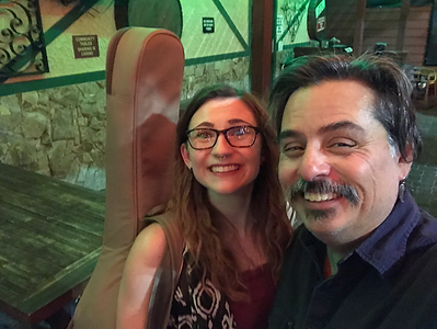 2018-06-21 Haley Sawtelle & Me at Big Dog's Brewing