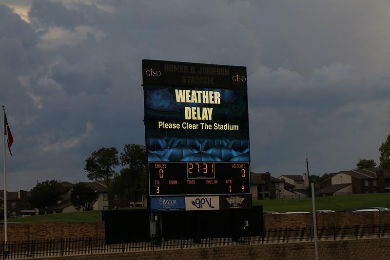 9/14/2018 - Plano @ Rowlett - Struck by lightning once again