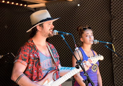 "Brynn Cartelli, winner of ""The Voice"" 2018, playing at Cisco Brewery, Nantucket, Massachusetts, August 7, 2018"