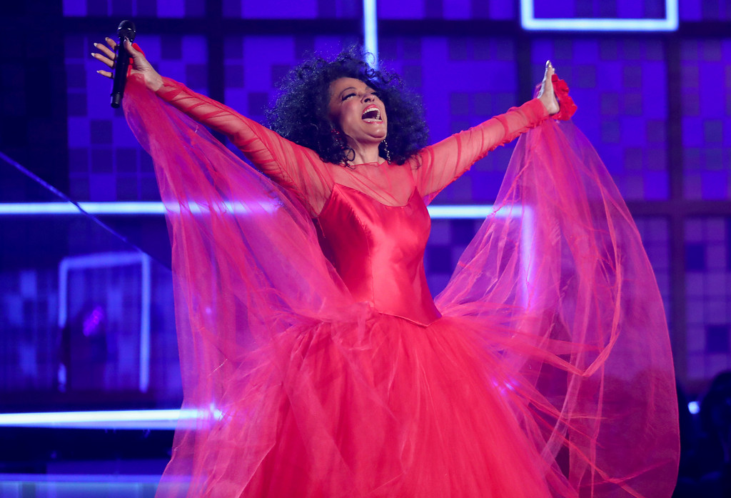 . Diana Ross performs a medley at the 61st annual Grammy Awards on Sunday, Feb. 10, 2019, in Los Angeles. (Photo by Matt Sayles/Invision/AP)
