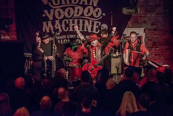 The Urban Voodoo Machine at The Frog & Fiddle Cheltenham