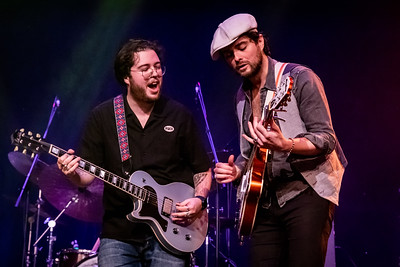 The Cinelli Brothers at the Harlington, Fleet, UK on 6th Dec 2020