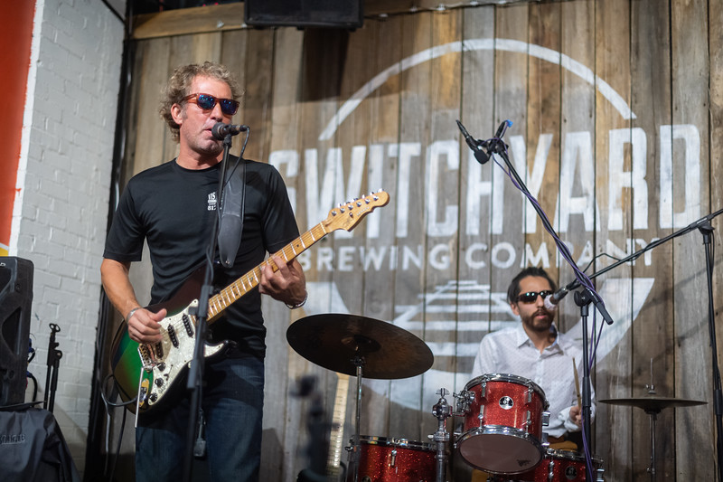 The Bloomington Blues Jam on Tuesday, Sep. 22, 2020 at Switchyard Brewing Company. (Photo/Alex Kumar, Emily Kumar)