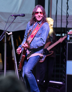 Blackberry Smoke performs on the Ashland Riverfront during the Spirit of the South Tour on Saturday evening.  MARTY CONLEY/ FOR THE DAILY INDEPENDENT