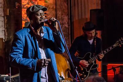 Errol Linton at Greenwich Beer  Blues Festival