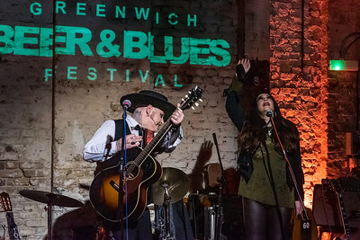 Paul-Ronney Angel with special guest Tomirae Brown at Greenwich Beer& Blues Festival