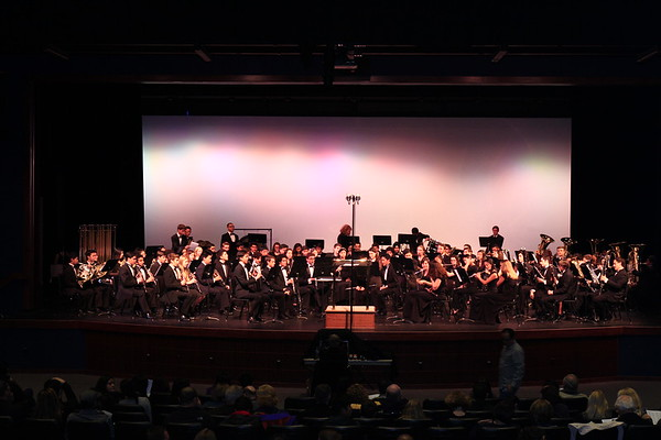 27th annual Contra Costa County High school honors band
