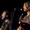 Old Crow Medicine Show at the Kent Stage.  Ketch Secor on left and Willie Watson.