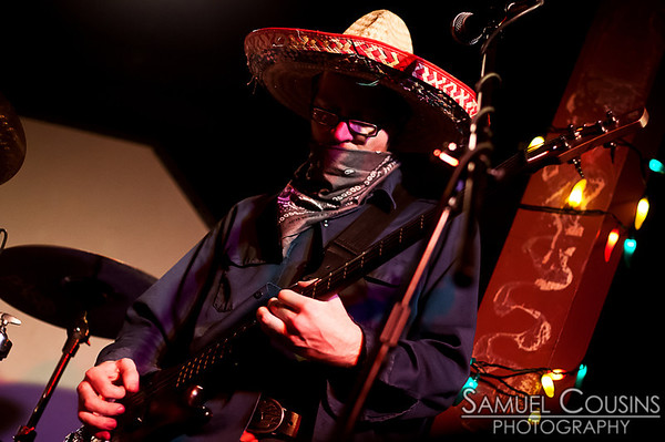Mexicutioner, at the 48 Hour Music Festival, at Space Gallery.
