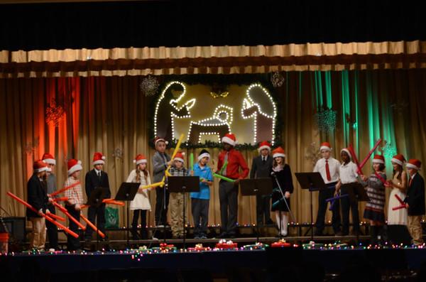 5-8 Christmas Choral & Band Concert (12.16.15)