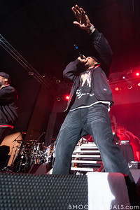 Lloyd Banks performs with 50 Cent at Jannus Live in St. Petersburg, Florida on June 16, 2010.