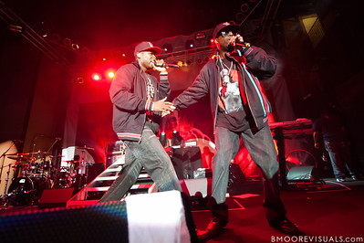50 Cent and Tony Yayo perform at Jannus Landing in St. Petersburg, Florida on June 16, 2010.