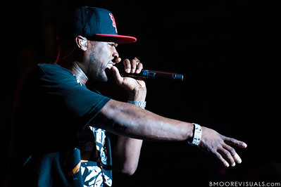 50 Cent performs at Jannus Live in St. Petersburg, Florida on June 16, 2010.
