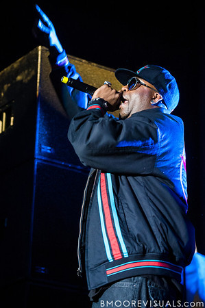 Tony Yayo performs with 50 Cent at Jannus Live in St. Petersburg, Florida on June 16, 2010.