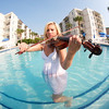 Violinist Amanda Mae • Photographer Dan Smigrod