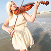8-6-11 Violinist Amanda Mae Making Waves in St. Simons Island, GA : Amanda Mae