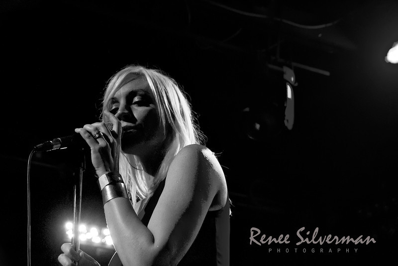 8mm performs at the Troubadour in WeHo 6-30-2011.  Juliette Beavan at the mic.