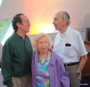 Richard Shulman and his Mom and Dad