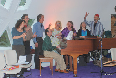 First performance of a musical - A Dream of Camelot - written by Richard Shulman of http://www.RichHeartMusic.com. performed at the Light Center near Black Mountain, NC.   about 2009