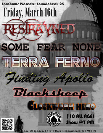 TERRA FERNO @ ACE OF SPADES 16 MARCH 2012