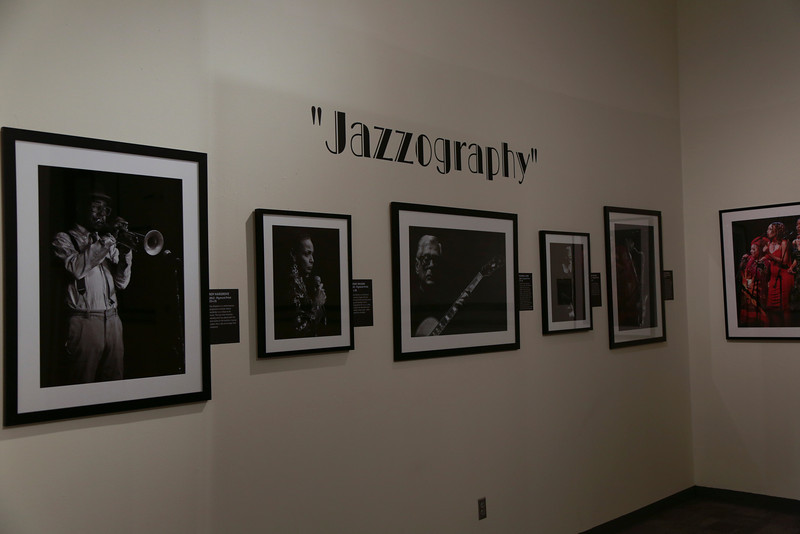 BOB BARRY JAZZOGRAPHY EXHIBIT IN THE CHANGING GALLERY