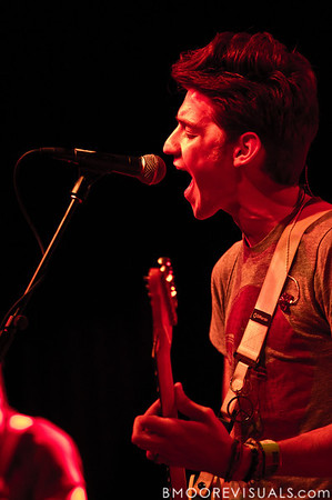 Nick Santino of A Rocket To The Moon performs at State Theatre in St. Petersburg, Florida on March 24, 2010