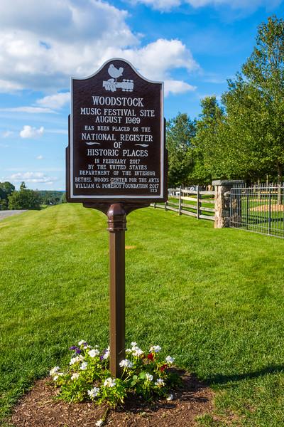 Woodstock Festival Sign