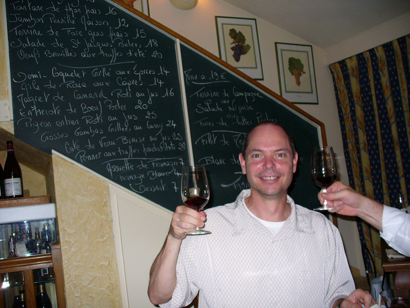 Remarkable Dinner! Remarkable Wines!<br /> Ma Cuisine restaurant<br /> Beaune