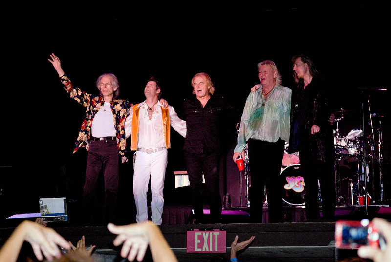Yes live at Great Adventure in Jackson, NJ<br /> on July 26 2009.
