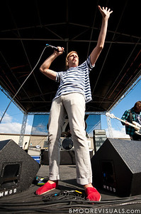 Aaron Bruno of AWOLNATION performs on December 3, 2011 during 97X Next Big Thing at 1-800-ASK-GARY Amphitheatre in Tampa, Florida