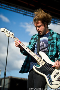 David Amezcua of AWOLNATION performs on December 3, 2011 during 97X Next Big Thing at 1-800-ASK-GARY Amphitheatre in Tampa, Florida