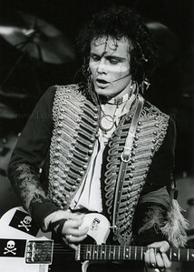 AdamAnt_lp_1031 Adam Ant of 1980's English Pop Music Group Adam and The Ants performs live in concert at The Palladium Theater, New York City, 1981 on the English band's first tour of the United States. Photo ©Laurie Paladino 1081 All Rights Reserved.