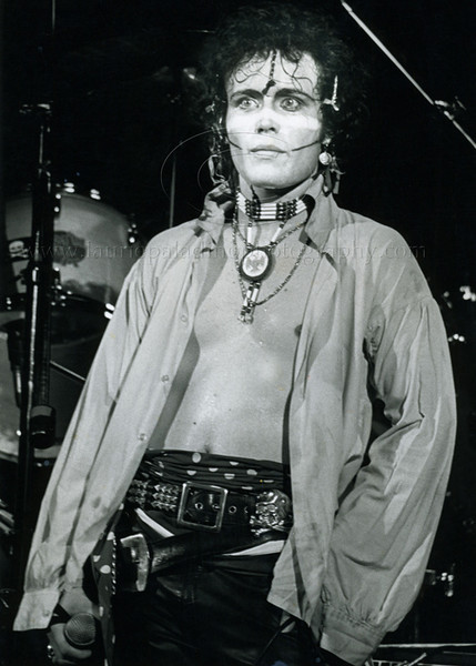 AdamAnt_lp_1026  80's punk/new romantic/new wave band Adam and The Ants perform live at the Palladium Theatre in NYC on the 1981 North American tour. Adam and The Ants were one of the most influential pop bands of the 1980's. Photo ©Laurie Paladino 1981 All Rights Reserved.