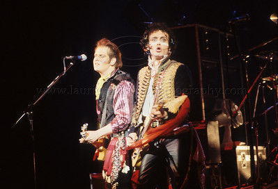 Adam  and The Ants perform live in concert in New York City 1981