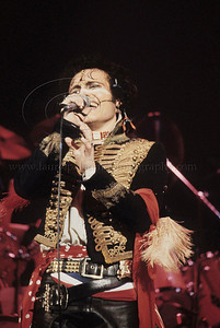 AdamAnt_lp_1009 Adam Ant performs live in concert at The Palladium Theater in New York City 1981 Photo ©Laurie Paladino 1981