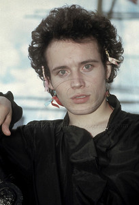 Adam Ant_lp_1002  Adam Ant photographed in New York City
