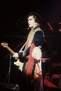 Adam Ant of 1980's English Pop Music Group Adam and The Ants performs live in concert at The Palladium Theater, New York City, 1981 on the English band's first tour of the United States Photo ©Laurie Paladino AdamAnt_lp_1017