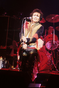 Adam Ant of Adam and The Ants performs live in concert at the Palladium Theater in NYC 1981  photo ©Laurie Paladino AdamAnt_lp_1010