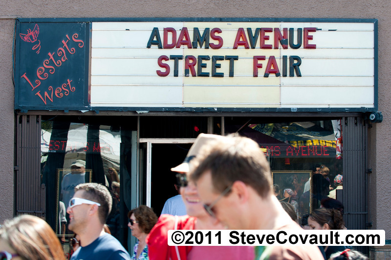 Adams Ave Street Fair<P><P>