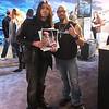 with Mike Orlando @ NAMM 2012, Anaheim, CA.