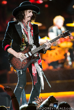 Joe Perry of Aerosmith performs on December 11, 2012 during The Global Warming Tour at Tampa Bay Times Forum in Tampa, Florida