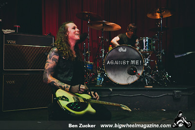 Against Me - Creepiod - Venus de Mar - at SLO Brew - San Luis Obisbo, CA - August 17, 2014