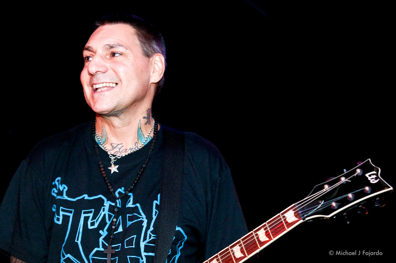 Vinnie Stigma<br /> Agnostic Front<br /> Marquis Theater<br /> Denver, CO  09/14/11